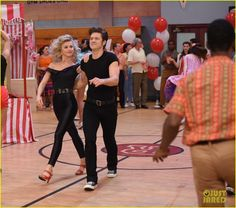 Grease: Live's Sandy: Julianne Hough Writes Sweet Note Before Tonight's Show!: Photo #3565653. Julianne Hough will be playing the iconic role of Sandy in tonight's production of Grease: Live on Fox and we can't wait to see her shine on screen!    The 27-year-old…