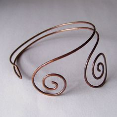 Armlet  Upper Arm Cuff  Hammered and Oxidized by StoneDelite, $24.00