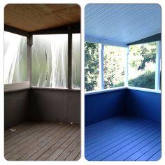 Summer Deck Restoration Lowvocpaint Homepainting Homerestoration