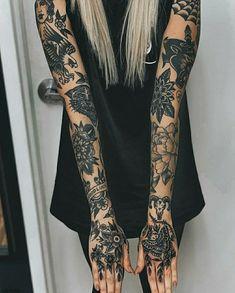 old school tattoo sleeve & old school tattoo ; old school tattoo traditional ; old school tattoo sleeve ; old school tattoo men ; old school tattoo designs ; old school tattoo black ; old school tattoo girly ; old school tattoo traditional black Leg Tattoos, Black Tattoos, Body Art Tattoos, Girl Tattoos, Tattoo Ink, Arm Tattoo, Tatoos, Airbrush Tattoo, Portrait Tattoos