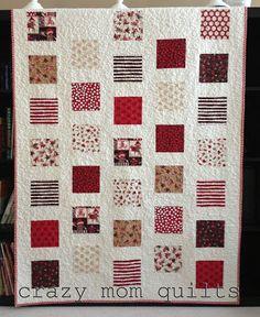 Sock Monkey Quilt - Fair & Square Free Quilt Pattern