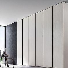 Contemporary, elegant 'Celine' wardrobe. Beautiful white piece, high quality materials. My Italian Living.