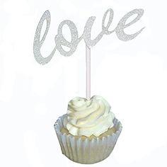 Aisila Pack of 20 Glitter Paper LOVE Wedding Cupcake Topp... https://www.amazon.com/dp/B01K4012NO/ref=cm_sw_r_pi_dp_x_1WbfybSJ2WHWQ