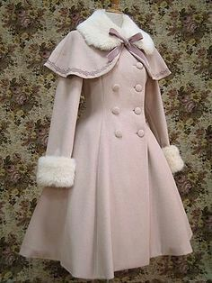 The Library for Lolita Fashion Kawaii Fashion, Cute Fashion, Girl Fashion, Fashion Dresses, Fashion Coat, Vestidos Vintage, Vintage Dresses, Vintage Outfits, Vintage Fashion
