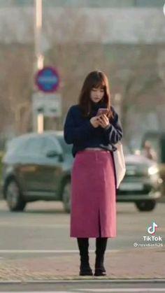 Drama Korea, Korean Drama, Teen Fashion Outfits, Winter Outfits, Park Bo Young, Korean Girl Fashion, Aesthetic Clothes, Bts, Dresses