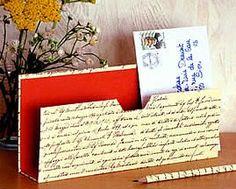 Découvrez comment faire vous même votre range-courrier ou porte-lettre avec de…                                                                                                                                                                                 Plus