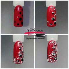 Пошаговый маникюр   Дизайн ногтей