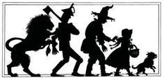 wizard of oz silhouettes | Image detail for -Silhouettes from the Wizard of Oz | paper cutting