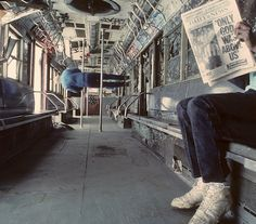 NY Subway during the 1980s