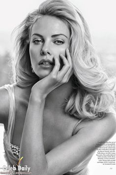 Charlize Theron on the May 2012  cover of Vogue UK.