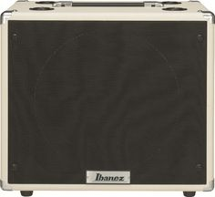 """Ibanez TSA112C: The TSA112C speaker cabinet complements the TSA Tube Screamer head. Its 12"""" sq. enclosure features a Celestion Seventy 80 speaker, outputting a tightly controlled low-end with punchy, aggressive upper midrange. Power rating of 80w at 8ohms."""