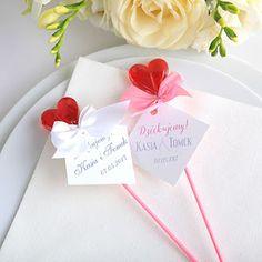 Ślub i wesele - pomysły i inspiracje na dekoracje i atrakcje Diy Wedding, Diy And Crafts, Tableware, Weddings, Party, Ideas, Tiny Gifts, Wedding, Crafts