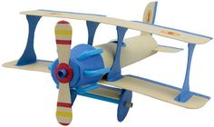 Big Blazin' Bi-plane made out of: • 1 Paper towel tube • Cereal box or some cardboard • Regular masking tape • Blue tape (to customize it) • 6 bendy straws • 1 small paper cup
