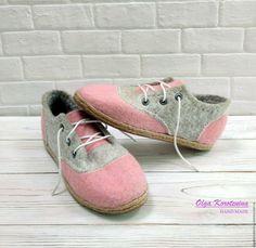 """Валяные туфли """"Стильный комфорт"""" – купить в интернет-магазине на Ярмарке Мастеров с доставкой"""