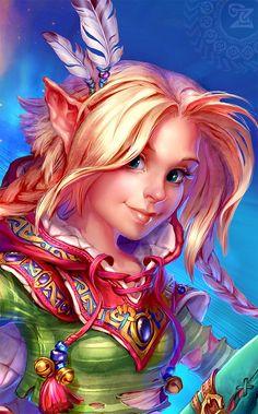 Digital Image, My Arts, Fairy, Princess Zelda, Magic, Fictional Characters, 1 Year, Log Projects, Drawings