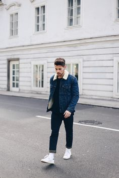 Kevin Elezaj - Adidas Sneakers, Levi's® Jeans, Levi's® Jacket - Live in Levis
