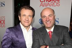 Kevin O'Leary Robert Herjavec...love these guys