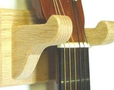 Mustache Guitar Hanger Handmade Wood Guitar Hanger