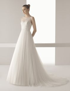 Trunk Show at Evas Bridal International, May 21-24.  By appointment (708)460-2200. Soft by Rosa Clará INA