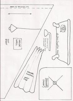 Домик из ткани.Выкройки.. Обсуждение на LiveInternet - Российский Сервис Онлайн-Дневников