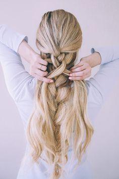Take a look at this cute textured braid tutorial on LaurenConrad.com