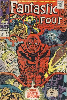 Anywhen - Behold the epic Marvel cover art of Jack Kirby