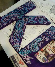 Kappa Delta sorority diy letters big little clue week