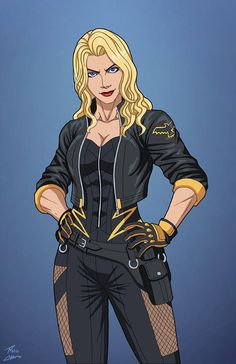 Black Canary is a fictional superhero from the American comic book company . - Black Canary is a fictional superhero from the American comic book company DC Comics. Arte Dc Comics, Marvel Heroes, Marvel Dc, Marvel Comics, Comic Books Art, Comic Art, Black Canary Costume, Comic Character, Character Design
