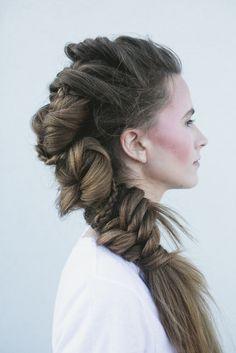 Big beautiful braid by Sara Franco at Salon Zen Norman, Ok