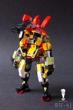 Lego Mecha RTF-4.1 Open | This is the Frame RTF-4.1 ready fo… | Flickr