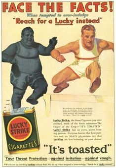 1931 Lucky Strikes - Face the Facts!