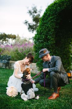 For more dogs at wedding inspiration visit www.prettyfluffy.com