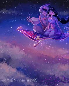 A Whole New World by Yudukichi.deviantart.com on @DeviantArt