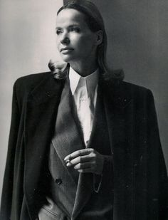 Vogue Italy Editorial October 1990 - Veruschka by Steven Meisel