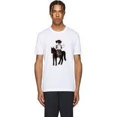 Dolce & Gabbana - White Cowboy T-Shirt