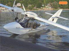 """Gidroplan Che-27 """"Corvette"""" twin light sport aircraft"""