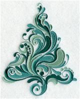Machine Embroidery Designs at Embroidery Library! - A O Christmas Tree Design Pack - Md