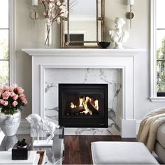 Love the fireplace!!