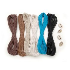 20lb Neutral Color Hemp Cord and Shell Kit