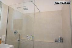 Betonová stěrka do koupelny i na podlahu   Facebeton