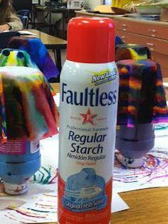 spray starch makes coffee filter art dry stiff and . Video on Chihuly! Coffee Filter Art, Coffee Filter Crafts, Coffee Filter Flowers, Art For Kids, Crafts For Kids, Arts And Crafts, Paper Crafts, 3d Art, Art Lessons Elementary