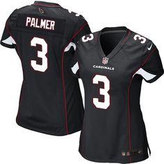 bda8e3eb5 Nike Carson Palmer Limited Black Alternate Women s Jersey - NFL Arizona  Cardinals  3