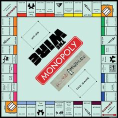 The Wire Monopoly. Now, if only Stringer Bell would come and play it with me...