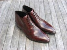 Wine Red Oxford Boots http://www.definegatsby.com/shoes/oxford-boots-wine-red/