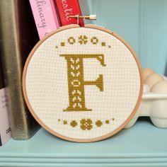 Mini Folk Letter #embroidery PDF Alphabet Patterns