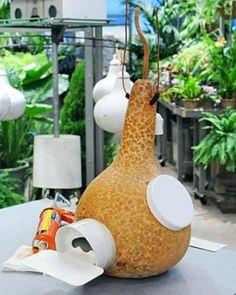 Gourd Birdhouses