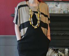 Drapey Knit Dress Sewing bee