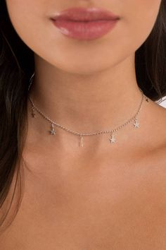 "Search ""Starry Eyed Silver Charm Choker"" on Tobi.com! #ShopTobi #fashion #accessories cute trendy stylish unique accessory jewelry charm charming affordable cheap festival boho bohemian women girls women teens vintage travel packing everyday summer spring fall winter LA california european casual fashionable style basic solid plain capsule wardrobe hot weather humid tropical beach party partying star stars necklace charms dainty cute pretty sweet"
