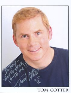 """""""Dr. Tony...Way to stick it to me!!! Tom Cotter AGT Americas Got Talent Runner - Up 2012 http://www.tomcotter.com/"""