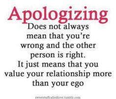 value relationships...